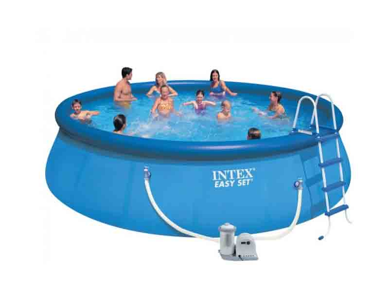 Intex 15 feet inflatable pool 15i4a intex swimming pool chennai for Intex swimming pools australia