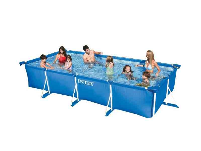 Intex rectangle pool delhi easy setup swimming pool for Intex swimming pools australia