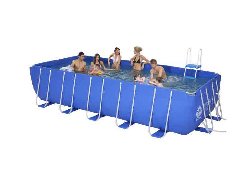 Jilong rectangle swimming pool above ground pool india for Intex swimming pools australia