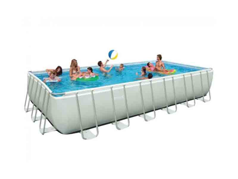 Intex 32 feet ultra pool iu32 outdoor swimming pools in for Garten pool intex