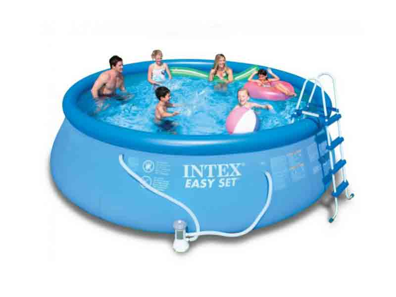 Intex 15 feet inflatable pool 15id3 portable swimming pool jammu kashmir for Inflatable swimming pool buy online india