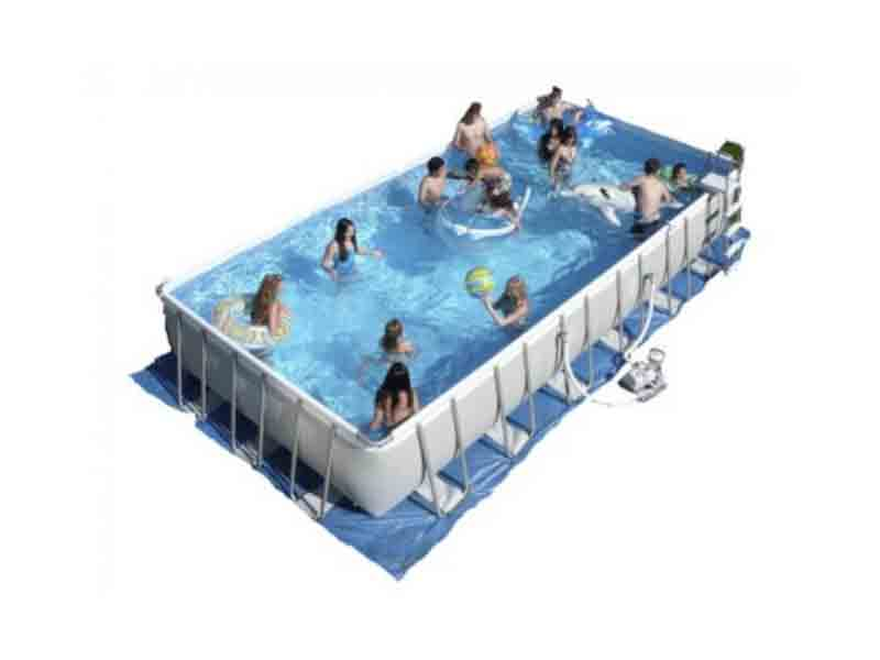 Intex 24 feet ultra pool punjab easy setup swimming pools for Prefab swimming pools cost in india
